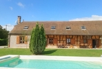 référence n° 131693114 : Saint-Martin-en-Bresse - Stunning Farmhouse with Swimming Pool