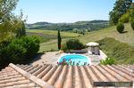 référence n° 186397080 : Beaugas - Villa en campagne avec magnifique vue et piscine chauff...