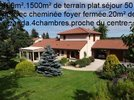 référence n° 91198320 : Saint-Didier-en-Velay - MAGNIFIQUE MAISON 160m²,sur 1500m² de terrain plat et arboré,.